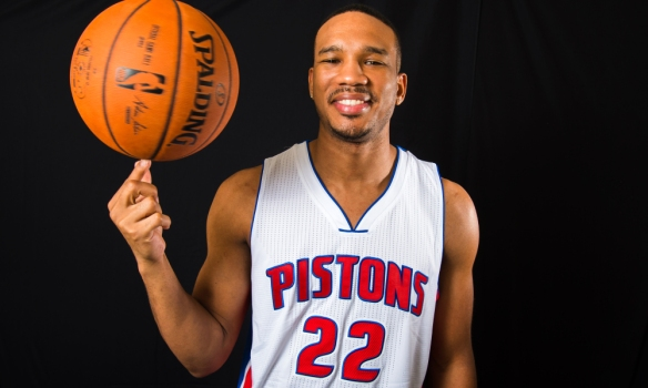 Avery Bradley of the Detroit Pistons Portraits