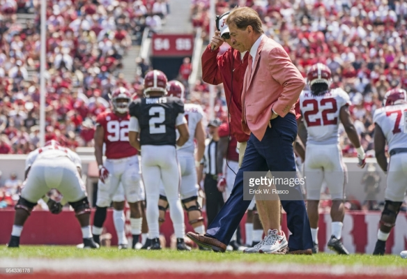 2018 University of Alabama Spring Football