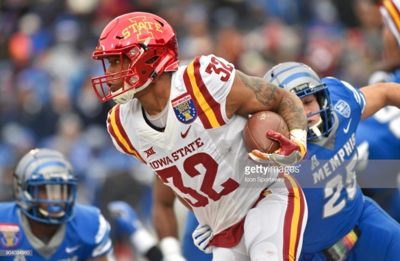 COLLEGE FOOTBALL: DEC 30 AutoZone Liberty Bowl - Memphis v Iowa State